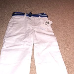Polo Ralph Lauren belted stretch chino cotton pant